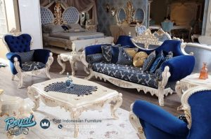 Desain Sofa Tamu Mewah Klasik Ukiran Jepara Turki Style