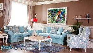 Set Sofa Kursi Tamu Minimalis Shabbychic American
