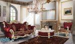 Set Sofa Tamu Mewah Terbaru Oreo Klasik