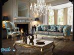 Sofa Tamu Mewah Elegan Paris Klasik Gold