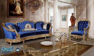 Sofa Tamu Mewah Putana Klasik Gold Duco Ukir Jepara