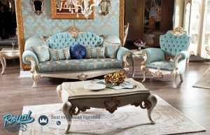 Sofa Tamu Mewah Terbaru Ukir Jepara Italian Style