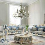 Sofa Tamu Mewah Ukir Klasik Jepara Italian Terbaru
