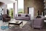 Sofa Tamu Minimalis Modern Terbaru Purple