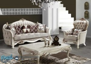 Sofa Tamu Modern Terbaru Bagdat Ukir Klasik