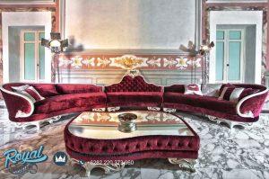 Sofa Tamu Ruang Tamu Keluarga Mewah Klasik Terbaru