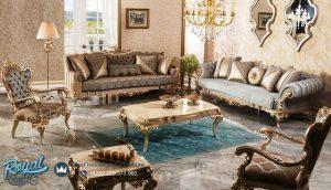 Sofa Tamu Terbaru Mewah Classic Turki Design