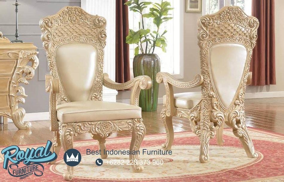 Kursi Makan Mewah Ukir Klasik Royal Kingdom, kursi makan klasik, kursi makan mewah, kursi makan ukir jepara, kursi makan classic, kursi makan terbaru, model kursi makan terbaru, desain kursi makan terbaru jepara
