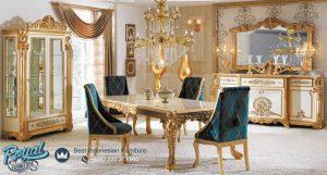 Meja Makan Mewah Klasik Terbaru Milas