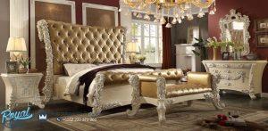 Set Kamar Tidur Super Mewah Royal Ukir Jepara Rose