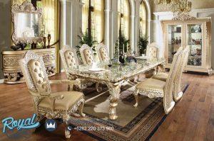 Set Meja Makan Ukir Classic Jepara Eropan Style