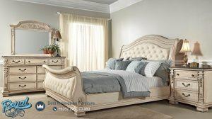 Tempat Tidur Mewah Putih Duco Alexandra Terbaru