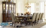 Meja Makan Jati Minimalis Klasik Hooker Furniture