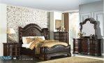 Set Kamar Tidur Jati Minimalis Klasik Eropan Style