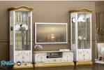 Set Bufet Tv Almari Hias Mewah Jepara Terbaru Roza