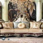 Set Sofa Tamu Klasik Ukiran Jati Jepara Luxury French