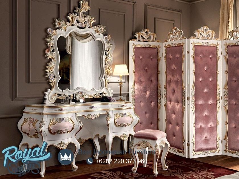 Meja Rias Mewah Klasik Ukiran Jepara Terbaru Gastone, kamar tidur mewah modern terbaru, kamar tidur mewah dan elegan, kamar tidur mewah elegan, kamar tidur mewah klasik, kamar tidur mewah minimalis, set kamar tidur mewah, set kamar tidur mewah klasik, harga tempat tidur mewah modern, kamar set minimalis mewah, tempat tidur mewah gold duco, tempat tidur mewah ukir jepara, model kamar set pengantin terbaru, harga 1 set tempat tidur pengantin, tempat tidur jati jepara, kamar set jati jepara, mebel jepara, furniture jepara, toko furniture jepara, royal furniture