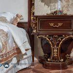 Interior Kamar Set Jepara Kayu Jati Klasik Ukiran Carolina