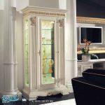 Desain Bufet Tv Lemari Hias Mewah Modern Putih Duco Exclusive Terbaru