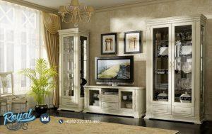 Set Bufet Tv Lemari Hias Minimalis Modern Elegan Jepara Terbaru