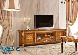 Bufet Meja Tv jati Klasik European