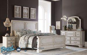Set Tempat Tidur Minimalis Warna Putih Duco