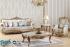 Sofa Tamu Modern Gold Turky Design