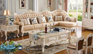 Sofa Ruang Keluarga Mewah Modern Leter L Giardino