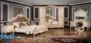 Gambar Kamar Tidur Mewah Ukiran Jepara Rusian