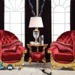 Sofa Teras Klasik Mewah Gold Arabian