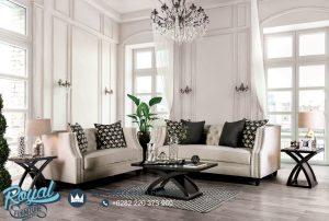 Sofa Tamu Jati Minimalis Terbaru Elegant
