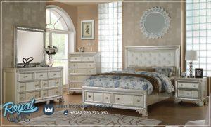 Interior Set Tempat Tidur Jepara Champagne