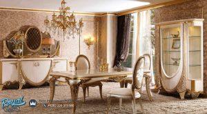Meja Makan Mewah Klasik Saphire Terbaru