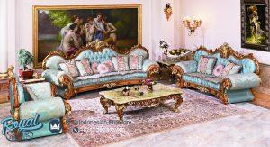 Set Sofa Tamu Jati Ukir Klasik Luxury Eropan Style