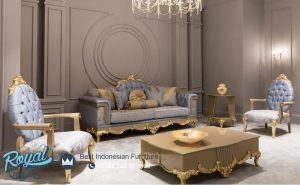 Sofa Tamu Mewah Klasik Bulgaria Terbaru