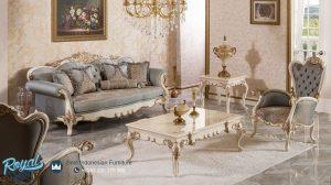 Sofa Tamu Mewah Modern Luks Arinsol Klasik
