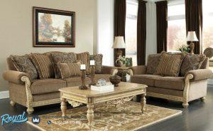 Sofa Tamu Mewah Modern Parkington Klasik Terbaru