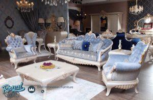 Sofa Tamu Mewah Putih Duco Italian Furniture