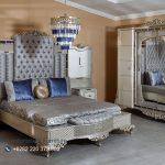 Bedroom Set Kamar Tidur Mewah Carmino Klasik Jepara