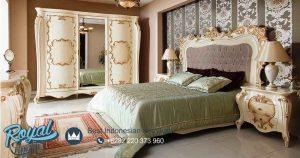 Desain Kamar Tidur Set Klasik Mewah Ukir Jepara Terbaru