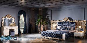 Set Kamar Tidur Mewah Ukiran Klasik Roma Yatak
