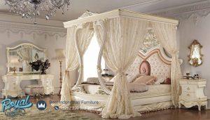 Tempat Tidur Mewah Pengantin Kanopi Italian Furniture