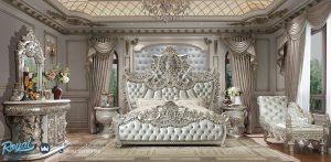 Bedroom Kamar Tidur Klasik Mewah Silver Ukiran Jepara Terbaru