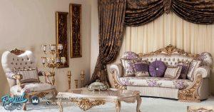 Kursi Sofa Tamu Mewah Modern Turky Style Terbaru