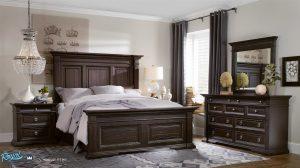 Set Tempat Tidur Jati Terbaru Minimalis Klasik