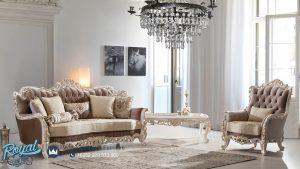 Desain Kursi Sofa Tamu Mewah Modern Klasik Luks Imparena