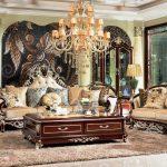 Set Sofa Tamu Klasik Ukiran Jati Jepara Luxury French