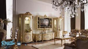 Model Set Bufet Tv & Lemari Hias Italian Style