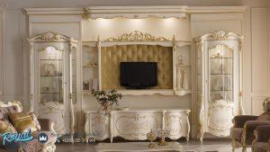 Set Bufet Tv Mewah Luxury Backdrop Klasik