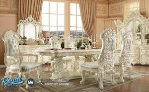 Model Set Kursi Meja Makan Mewah Klasik Luxury Terbaru